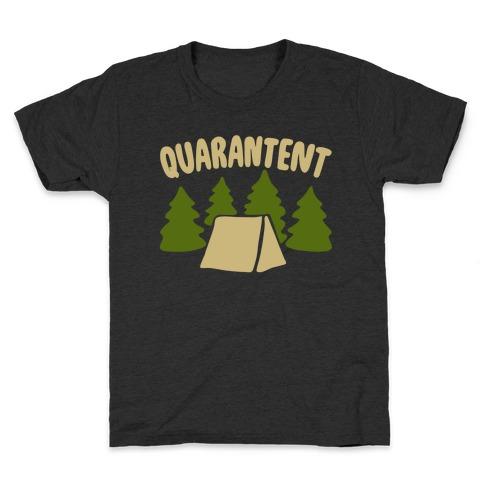 Quarantent White Print Kids T-Shirt