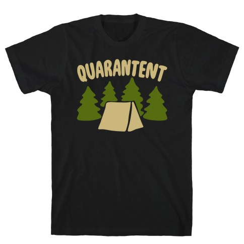 Quarantent White Print T-Shirt
