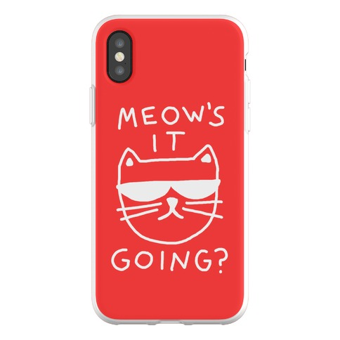 Meow's It Going Phone Flexi-Case