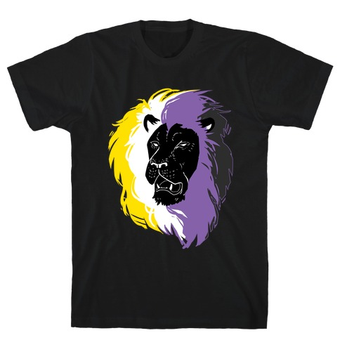 Non-binary Lion Pride T-Shirt