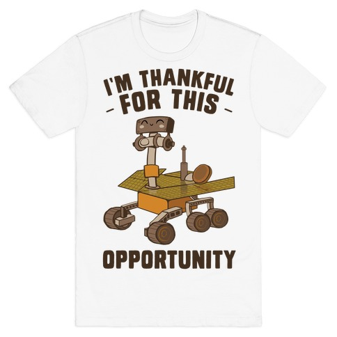 I'm Thankful For this OPPORTUNITY!  T-Shirt