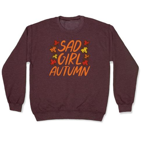 Sad Girl Autumn Pullover