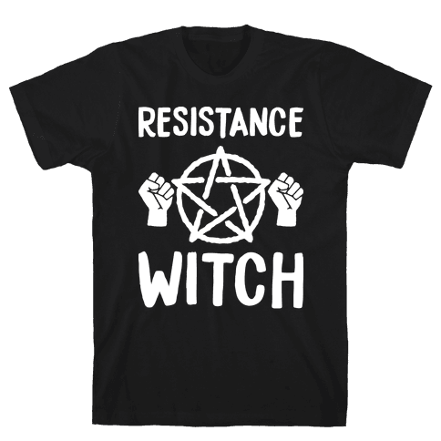 Resistance Witch Mens T-Shirt
