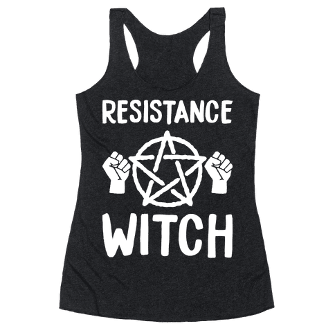 Resistance Witch Racerback Tank Top