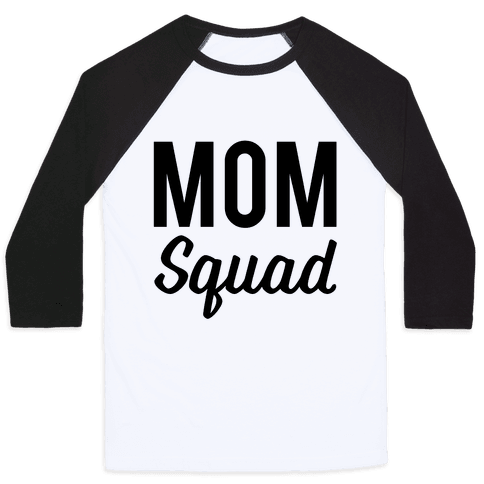 Mom Squad Baseball Tee