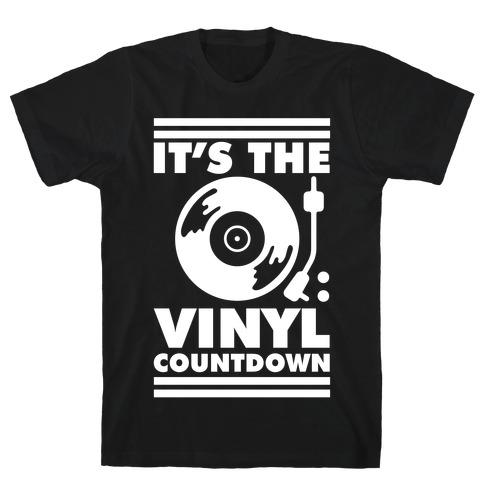 It's the VINYL countdown T-Shirt