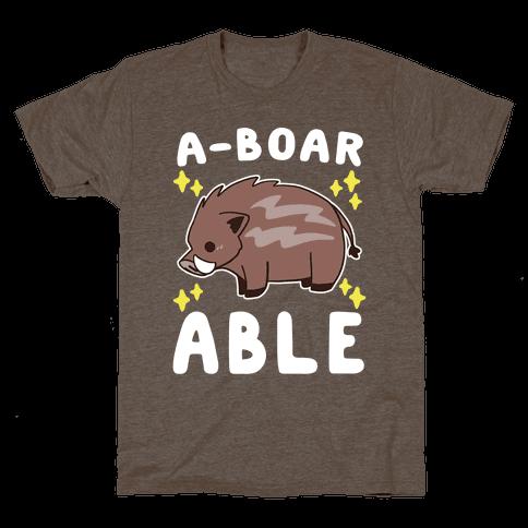A-boarable - Boar Mens T-Shirt