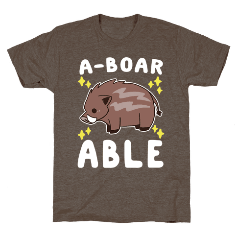 A-boarable - Boar Mens T-Shirt