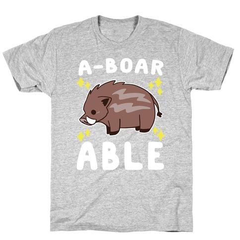A-boarable - Boar T-Shirt