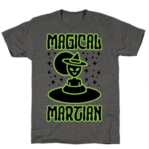 Magical Martian Mens/Unisex T-Shirt