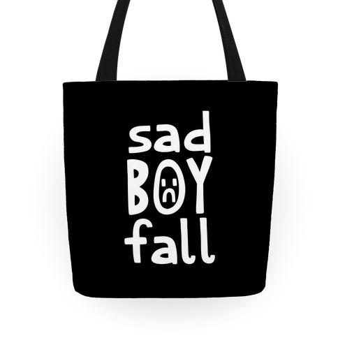 Sad Boy Fall Tote