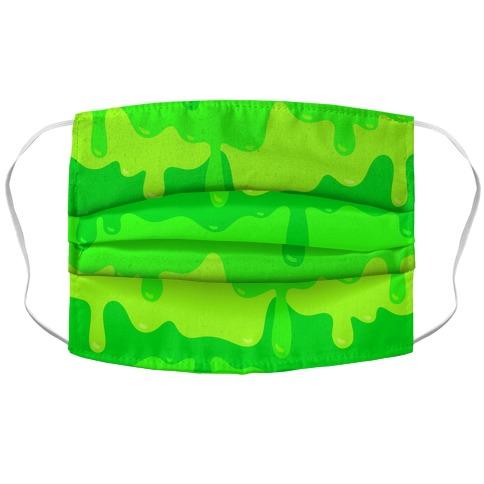 Green Slime Face Mask Cover