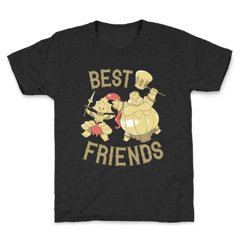 Best Friends Ornstein and Smough Kids T-Shirt