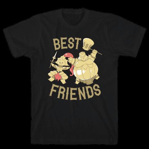 Best Friends Ornstein and Smough Mens T-Shirt