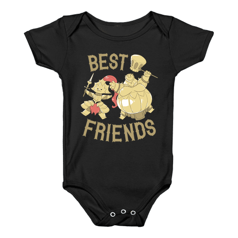 Best Friends Ornstein and Smough Baby Onesy