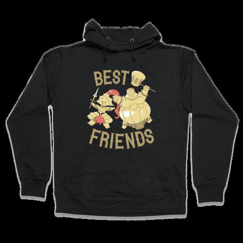Best Friends Ornstein and Smough Hooded Sweatshirt