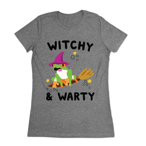 Witchy & Warty Womens T-Shirt