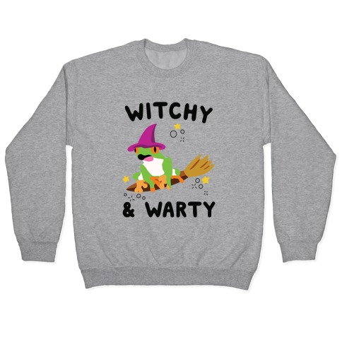 Witchy & Warty Pullover