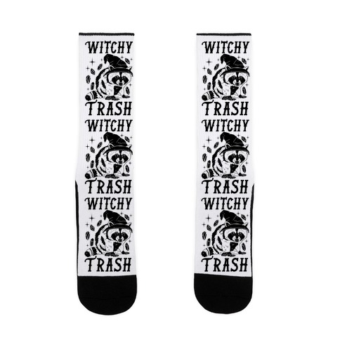 Witchy Trash Sock