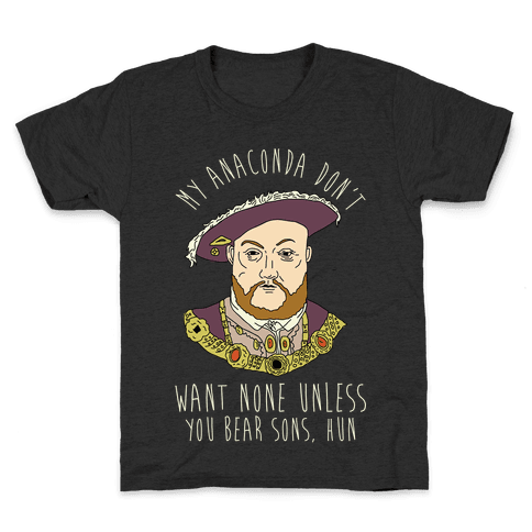 My Anaconda Don't Want None Kids T-Shirt