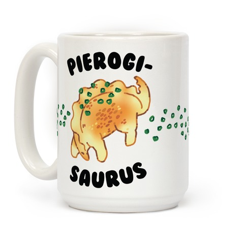 Pierogisaurus Coffee Mug