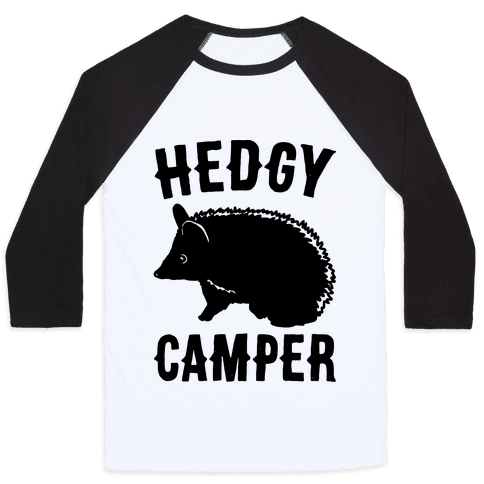 Hedgy Camper Baseball Tee