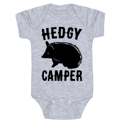 Hedgy Camper Baby Onesy