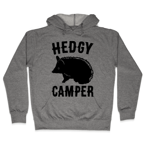 Hedgy Camper Hooded Sweatshirt