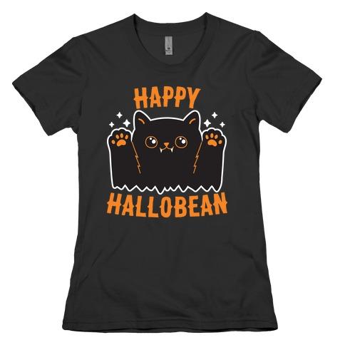 Happy Hallobean Womens T-Shirt
