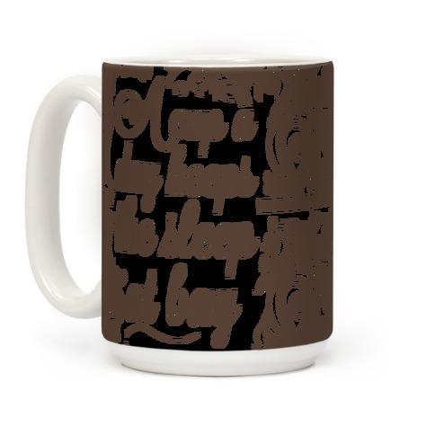 A Cup A Day Keeps The Sleep At Bay Coffee Mug