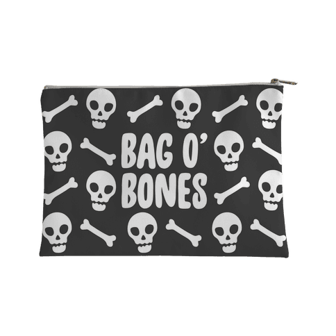 Bag O' Bones Parody Accessory Bag Accessory Bag