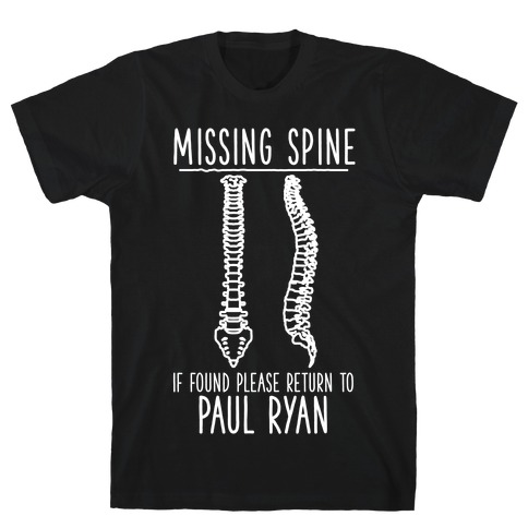 Missing Spine T-Shirt