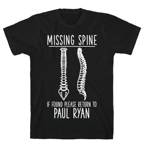 Missing Spine Mens T-Shirt
