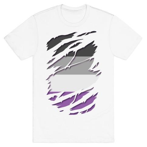Ripped Shirt: Ace Pride T-Shirt