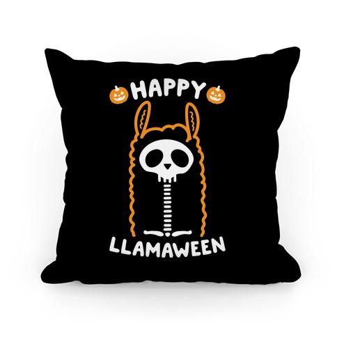 Happy Llamaween Pillow