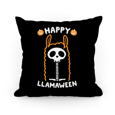 Happy Llamaween Pillow
