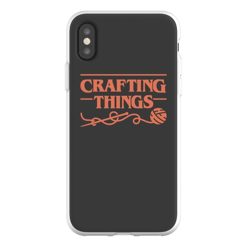 Crafting Things Parody Phone Flexi-Case