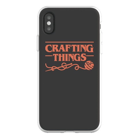 Crafting Things Parody Phone Flexi-Case