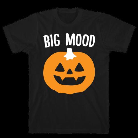 Big Mood Jack-o-lantern Mens T-Shirt