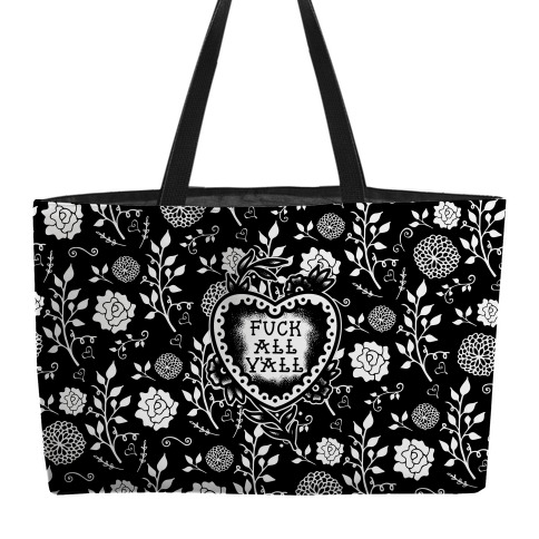 F*** All Y'all Old School Tattoo Weekender Tote