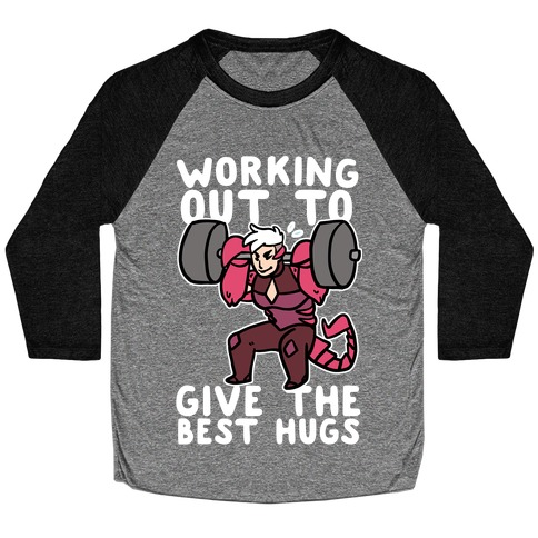 Working Out to Give the Best Hugs - Scorpia Baseball Tee