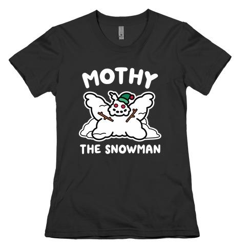 Mothy the Snowman Womens T-Shirt