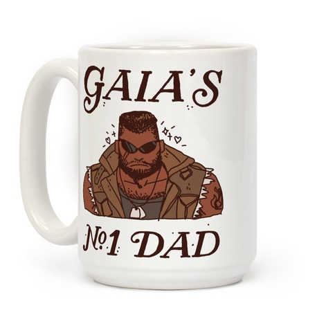 Gaia's Number 1 Dad Coffee Mug