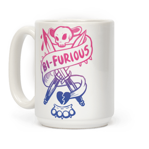 Bi-Furious Coffee Mug