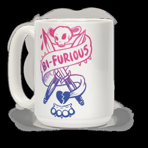 Bi-Furious Coffee Mug