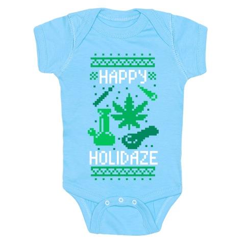 Happy Holidaze Baby Onesy