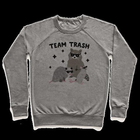 Team Trash Opossum Raccoon Rat Pullover
