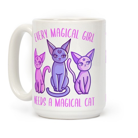 Every Magical Girl Needs a Magical Cat Coffee Mug