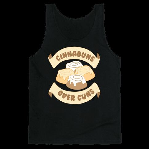 Cinnabuns Over Guns Tank Top