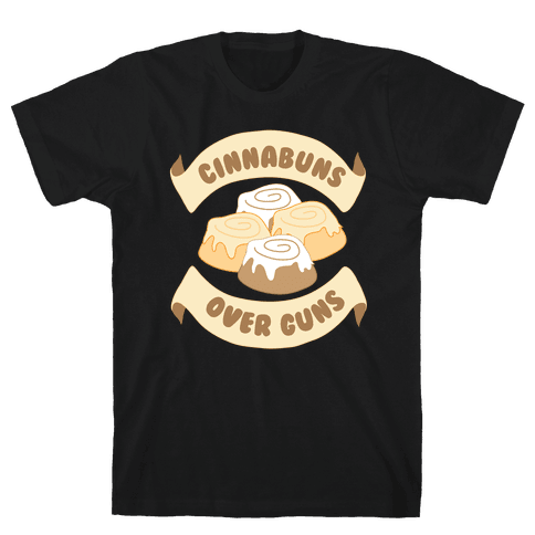 Cinnabuns Over Guns Mens T-Shirt